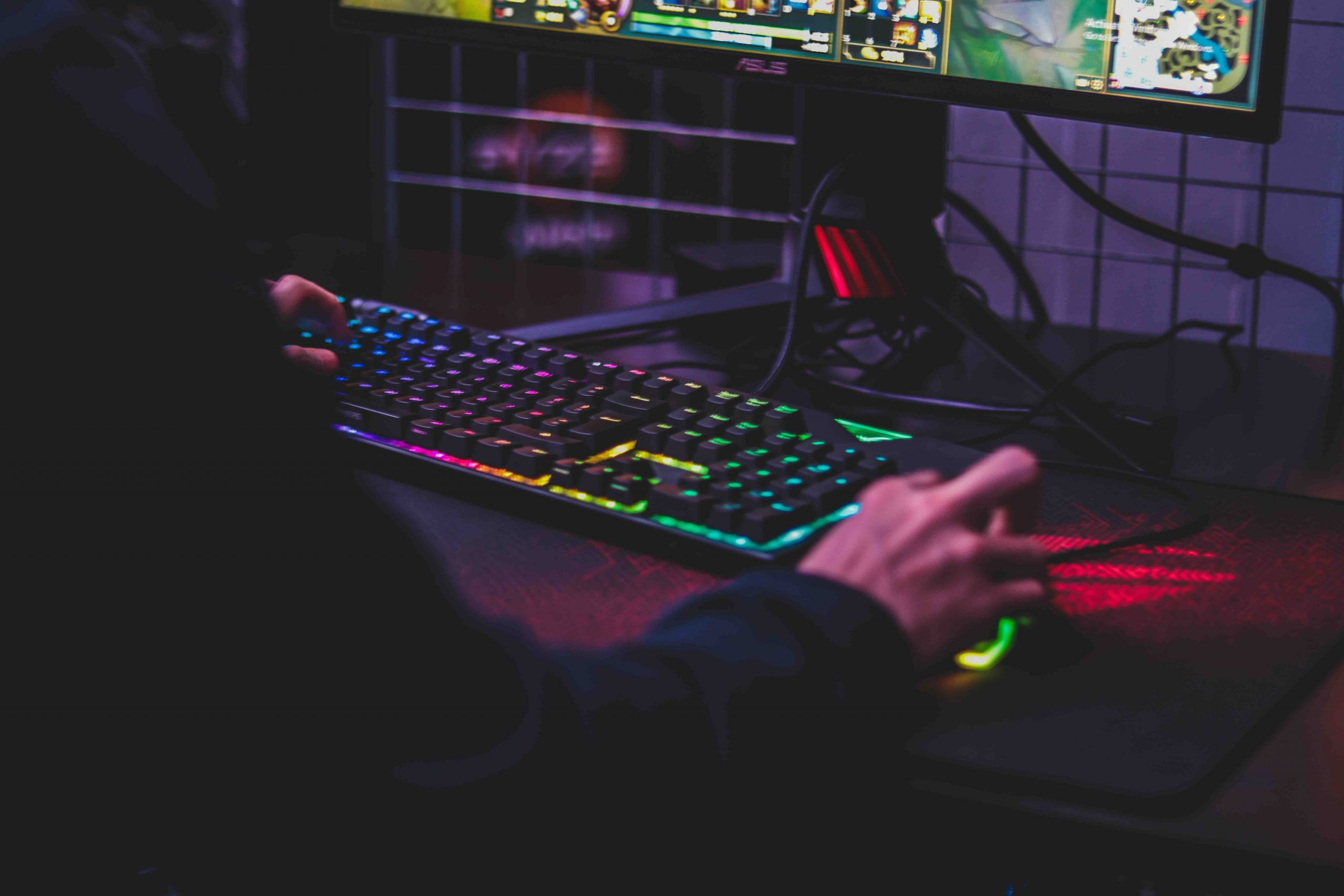 Computadora Gamer Teclado