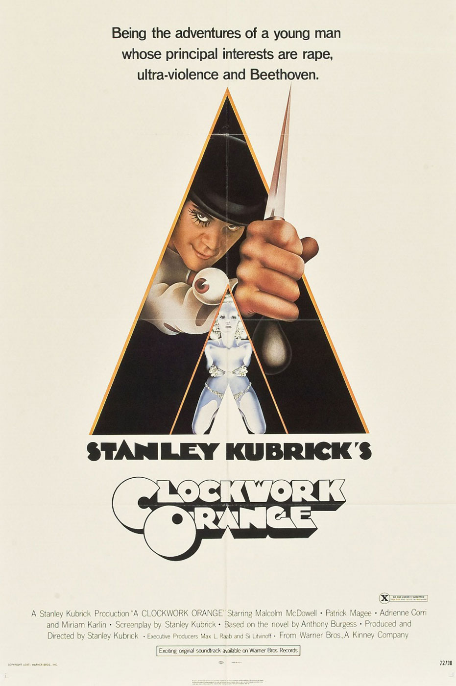 Película - A Clockwork Orange - Stanley Kubrick (1971)