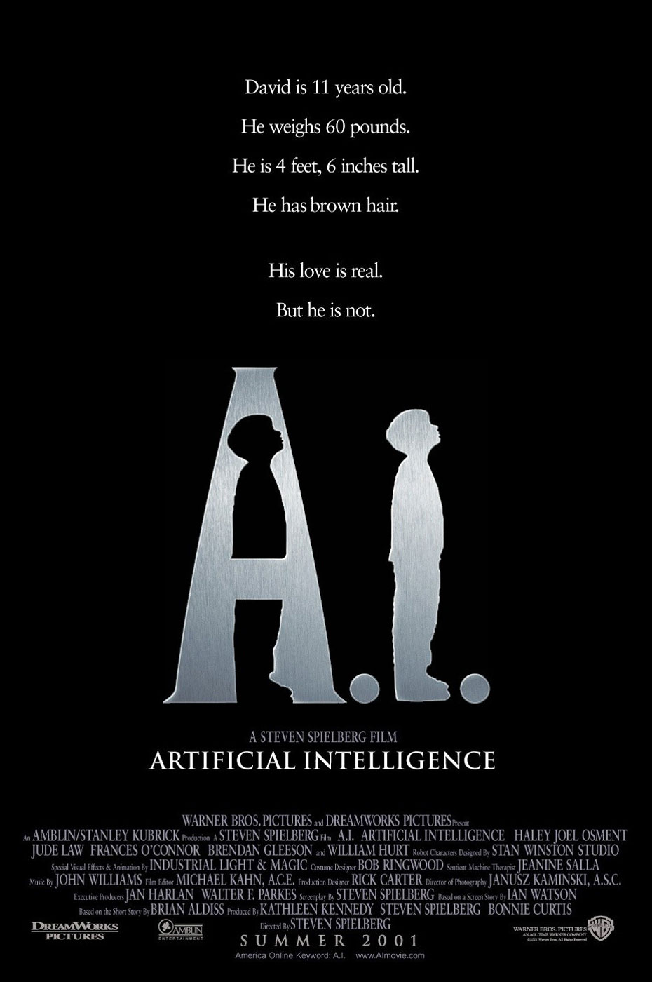 A.I. Artificial Intelligence - Steven Spielberg (2001)