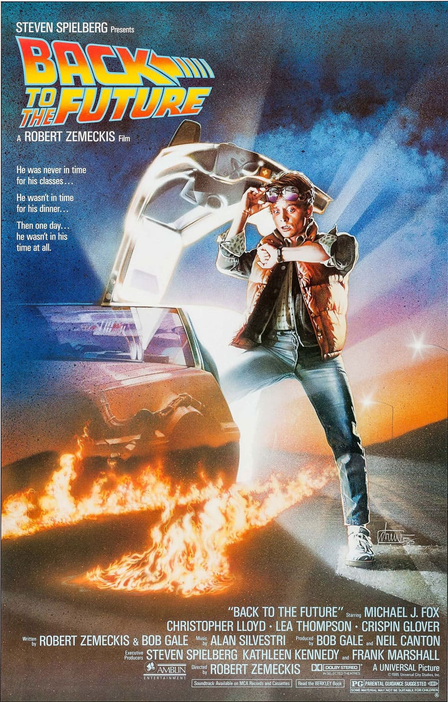 Cartel - Back to the Future - Robert Zemeckis (1985)