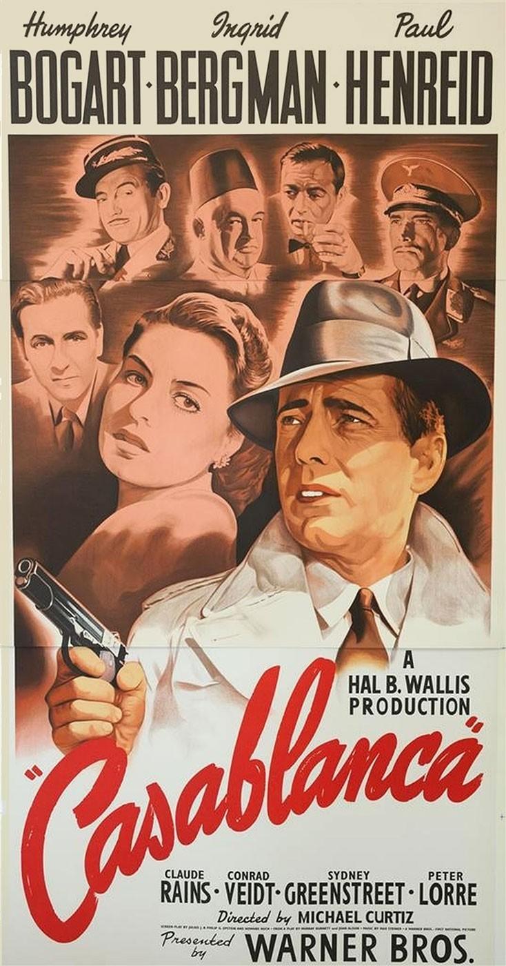 Película - Casablanca - Michael Curtiz
