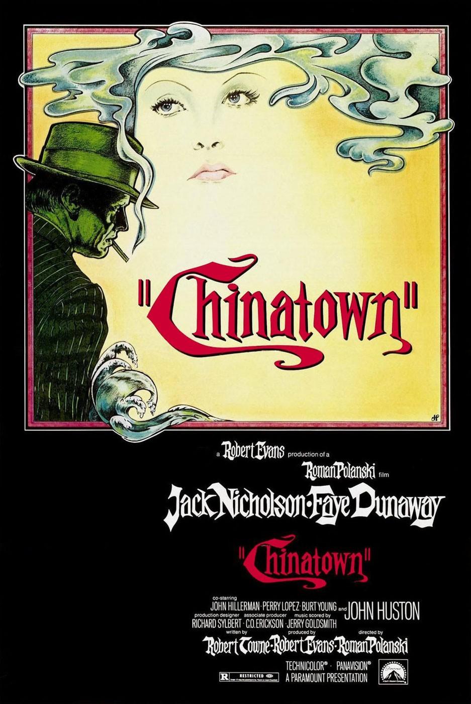 Cartel - Chinatown - Roman Polanski (1974)
