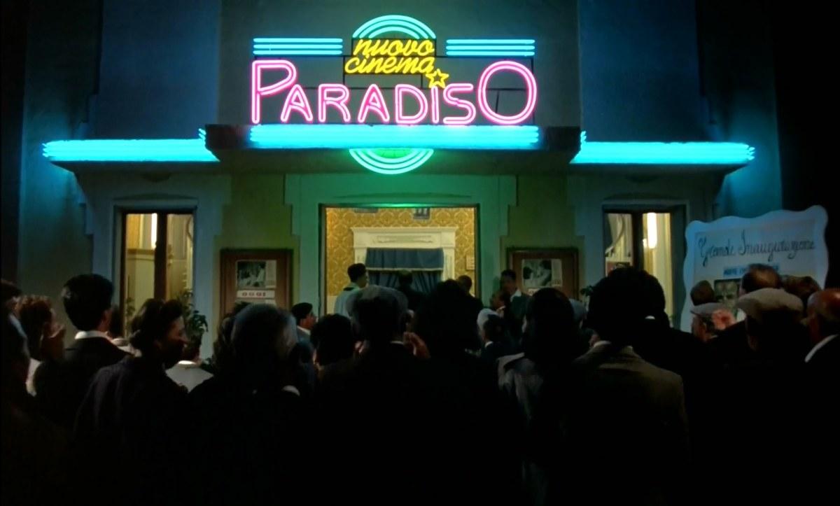 Película Cinema Paradiso