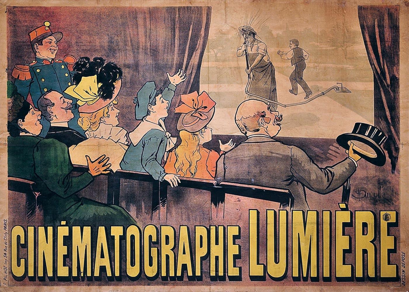 Cartel Cinématographe Lumiére