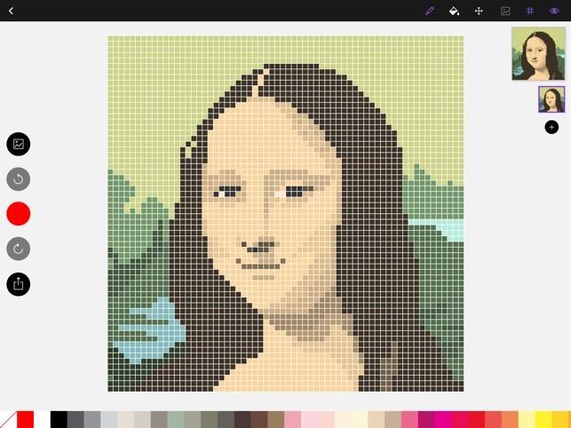Dots Pixel Art App