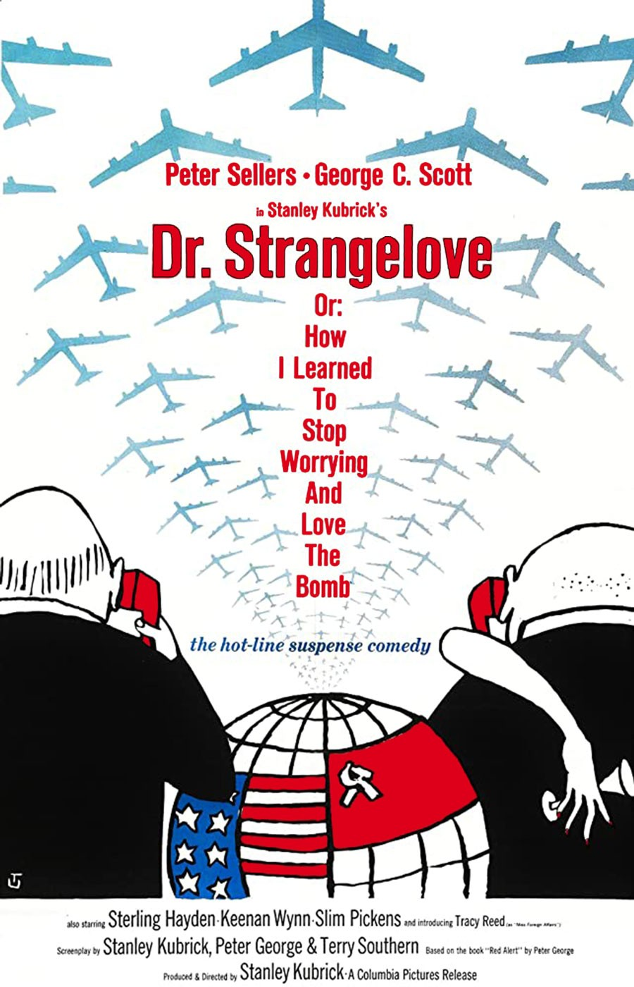 Película - Dr. Strangelove or: How I learned to stop worrying and Love the bomb - Stanley Kubrick (1963)