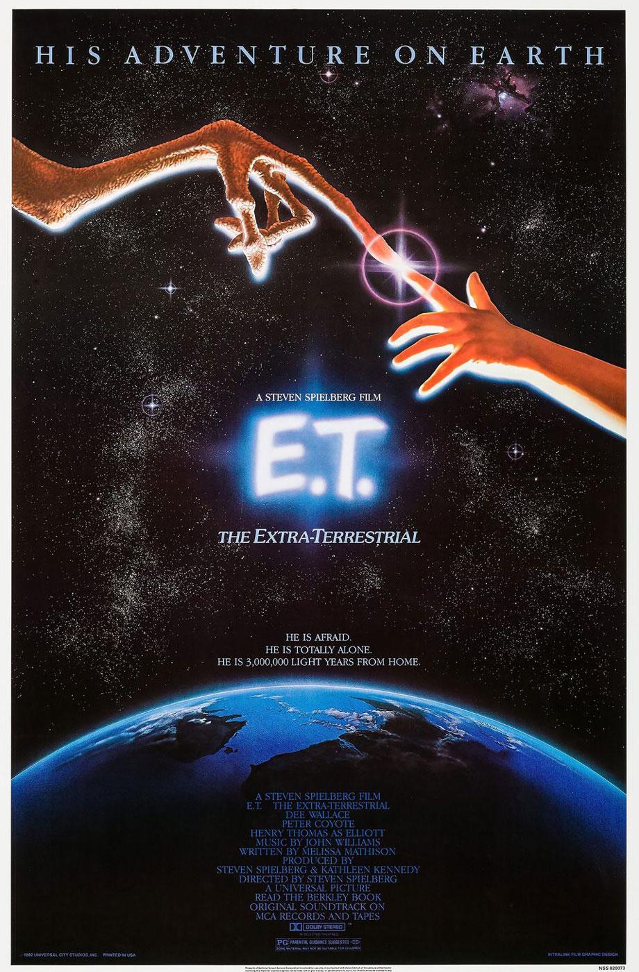 E.T. the Extra-Terrestrial - Steven Spielberg (1982)
