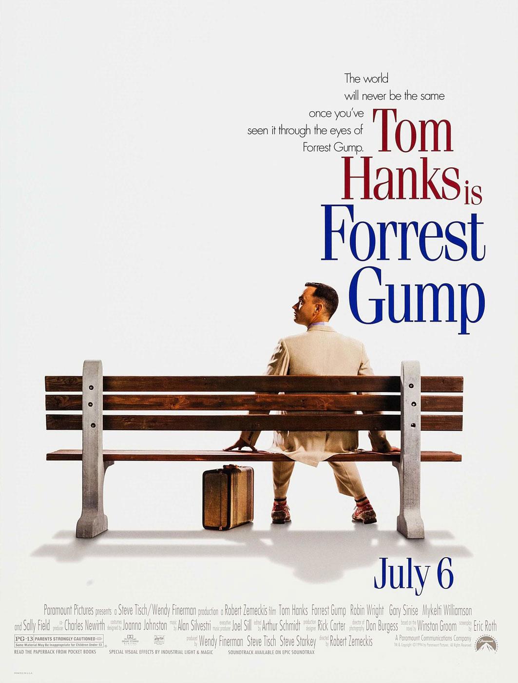 Cartel - Forrest Gump - Robert Zemeckis (1994)