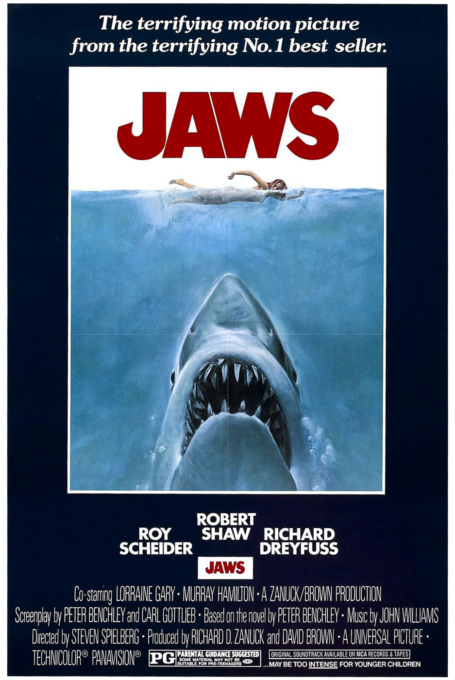 Película - Jaws - Steven Spielberg (1975)