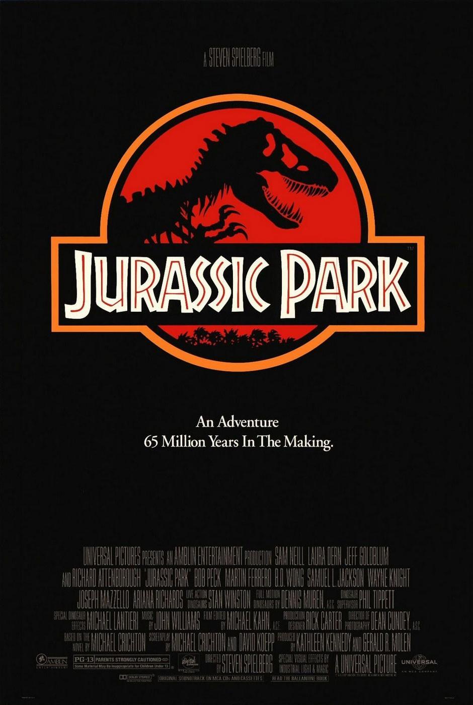 Película - Jurassic Park - Steven Spielberg (1993)