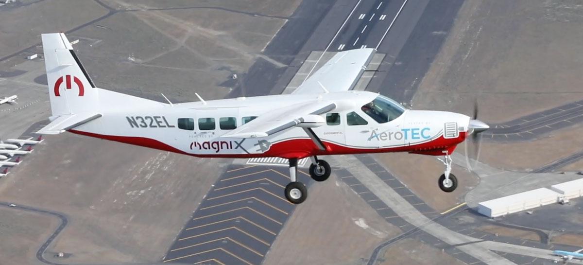 MagniX y AeroTEC