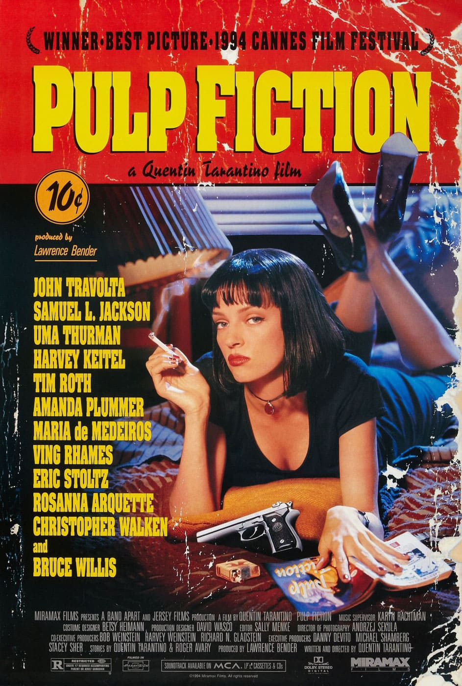 Película - Pulp Fiction - Quentin Tarantino (1994)