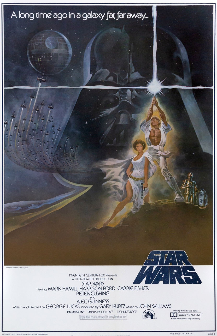 Película - Star Wars: Episode IV - A New Hope - George Lucas (1977)