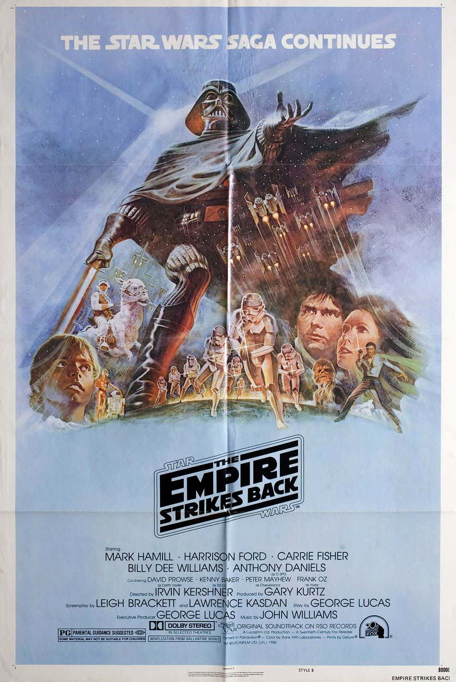 Película - Star Wars: Episode V - The Empire Strikes Back - Irvin Kershner (1980)