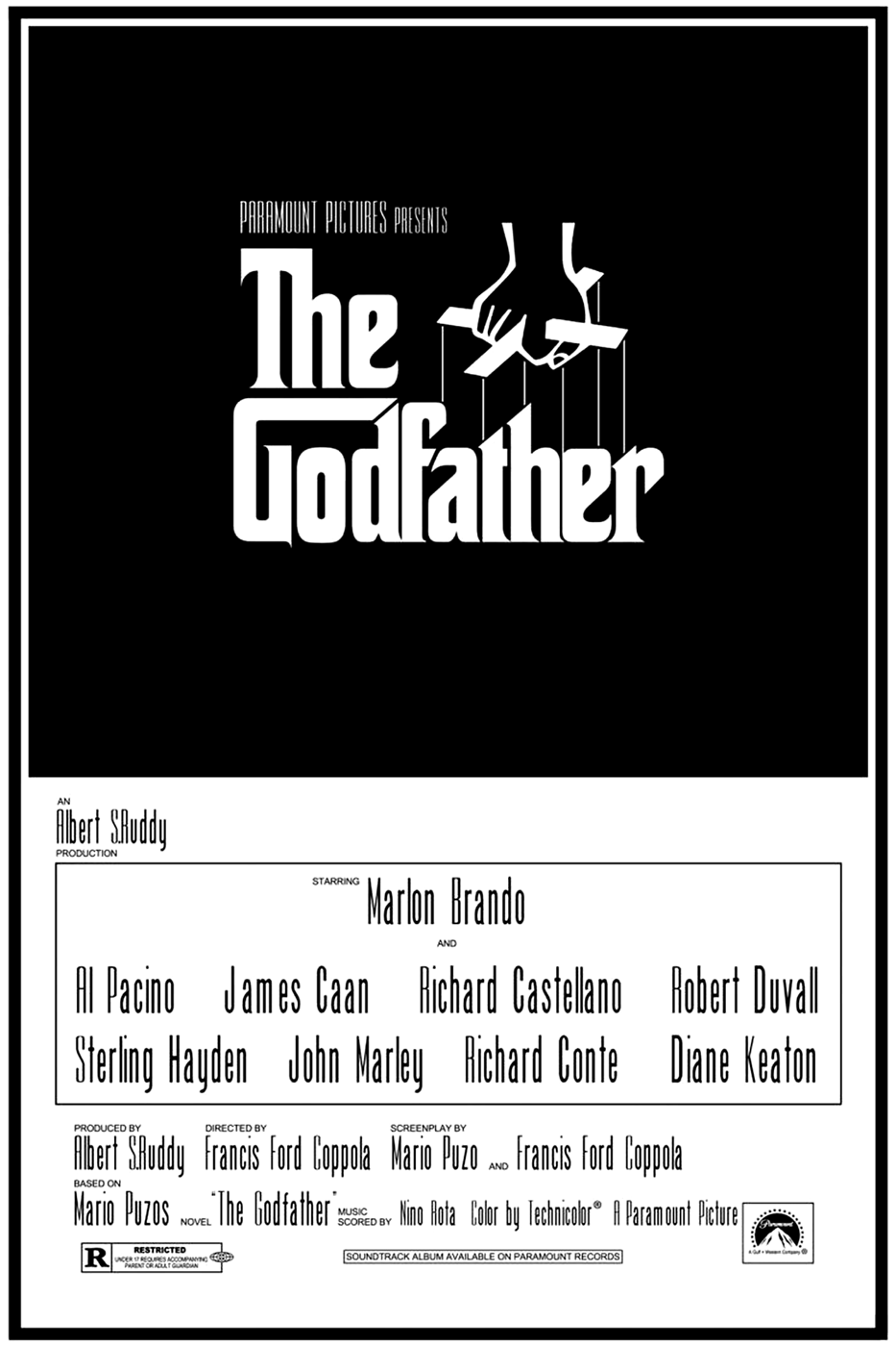 Película - The Godfather - Francis Ford Coppola (1972)
