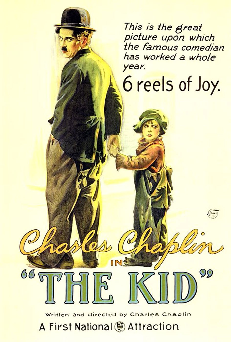 Película - The Kid - Charles Chaplin