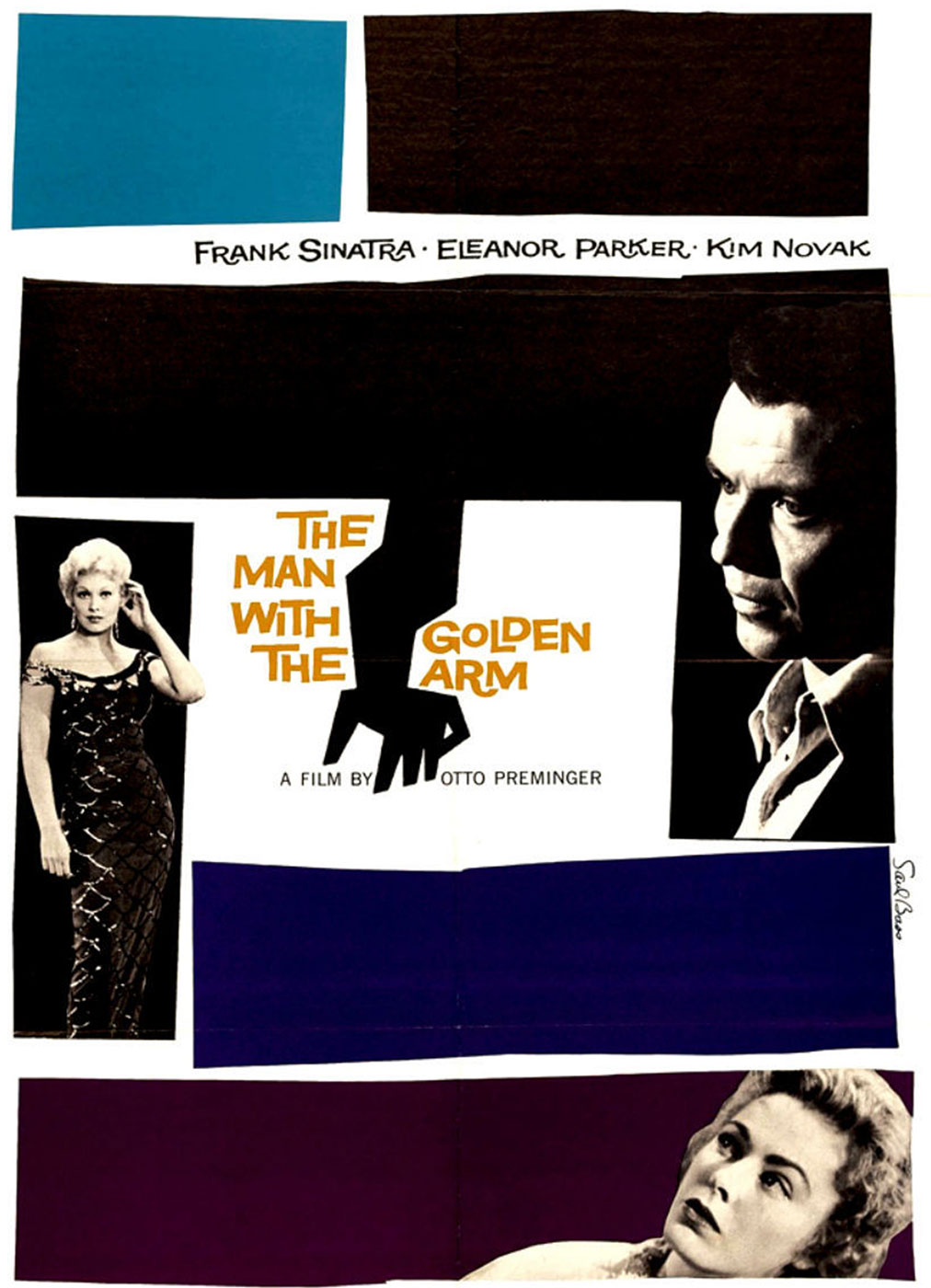 Pelícua - The Man with the Golden Arm - Otto Preminger