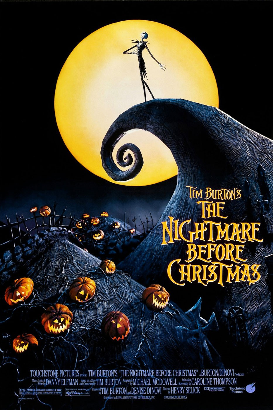 The Nightmare Before Christmas - Henry Selick (1993)