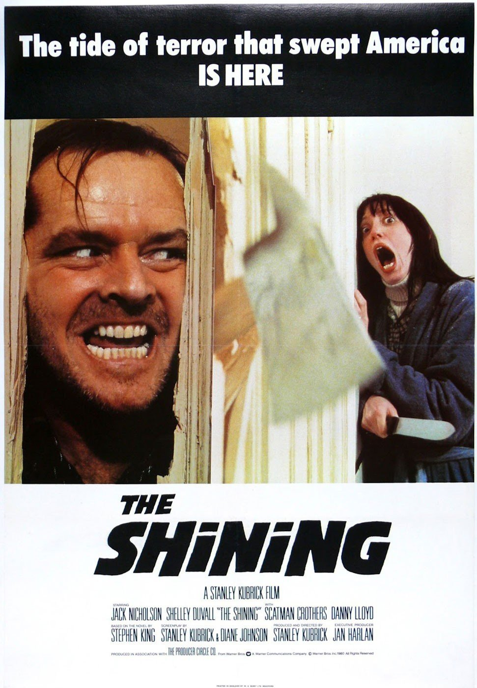 Cartel - The Shining - Stanley Kubrick (1980)