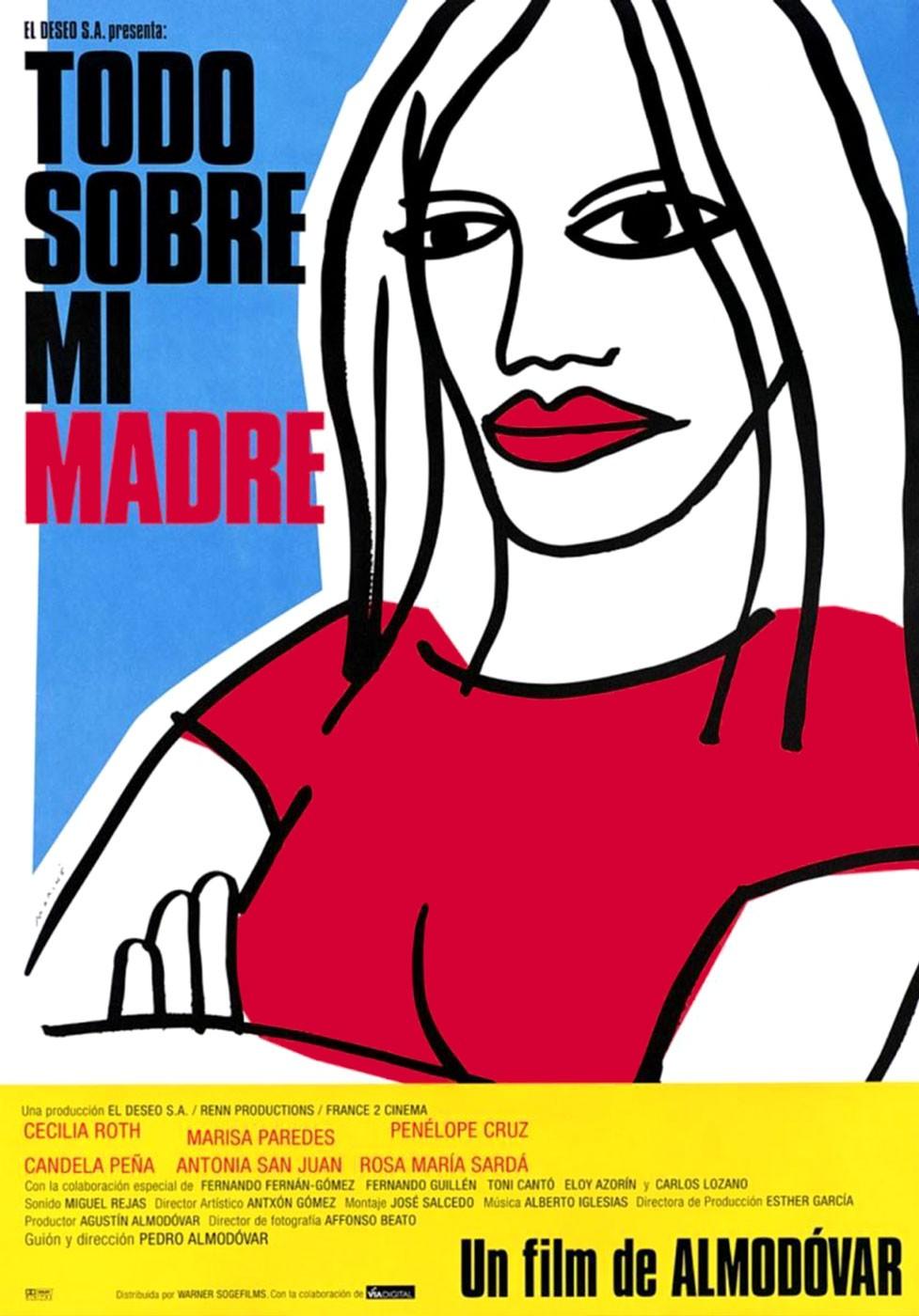 Todo sobre mi madre - Pedro Almodóvar (1999)