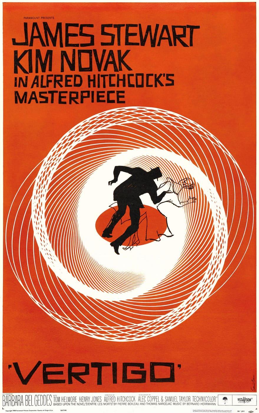 Vertigo - Alfred Hitchcock (1958)