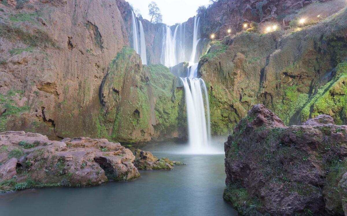 Cascada Marruecos