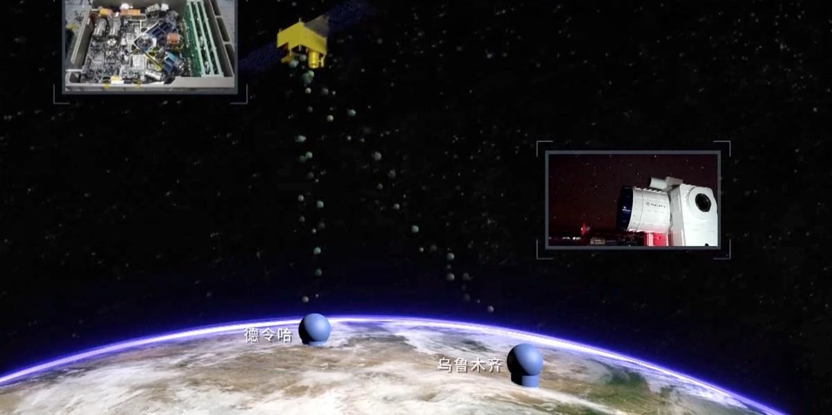 Comunicación cuántica satelital