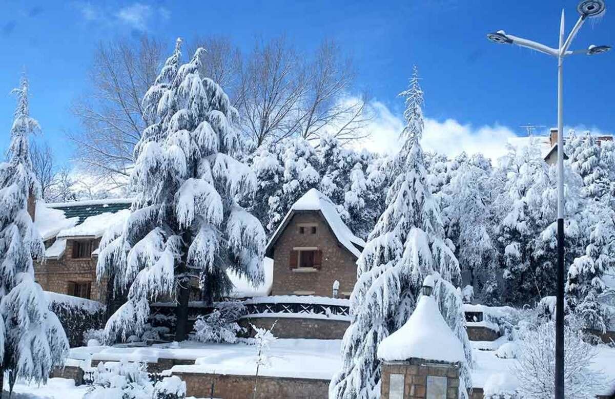 nieve Marruecos