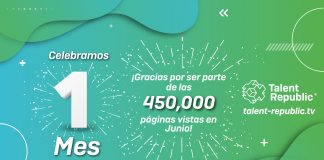 1mes, 450 mil gracias