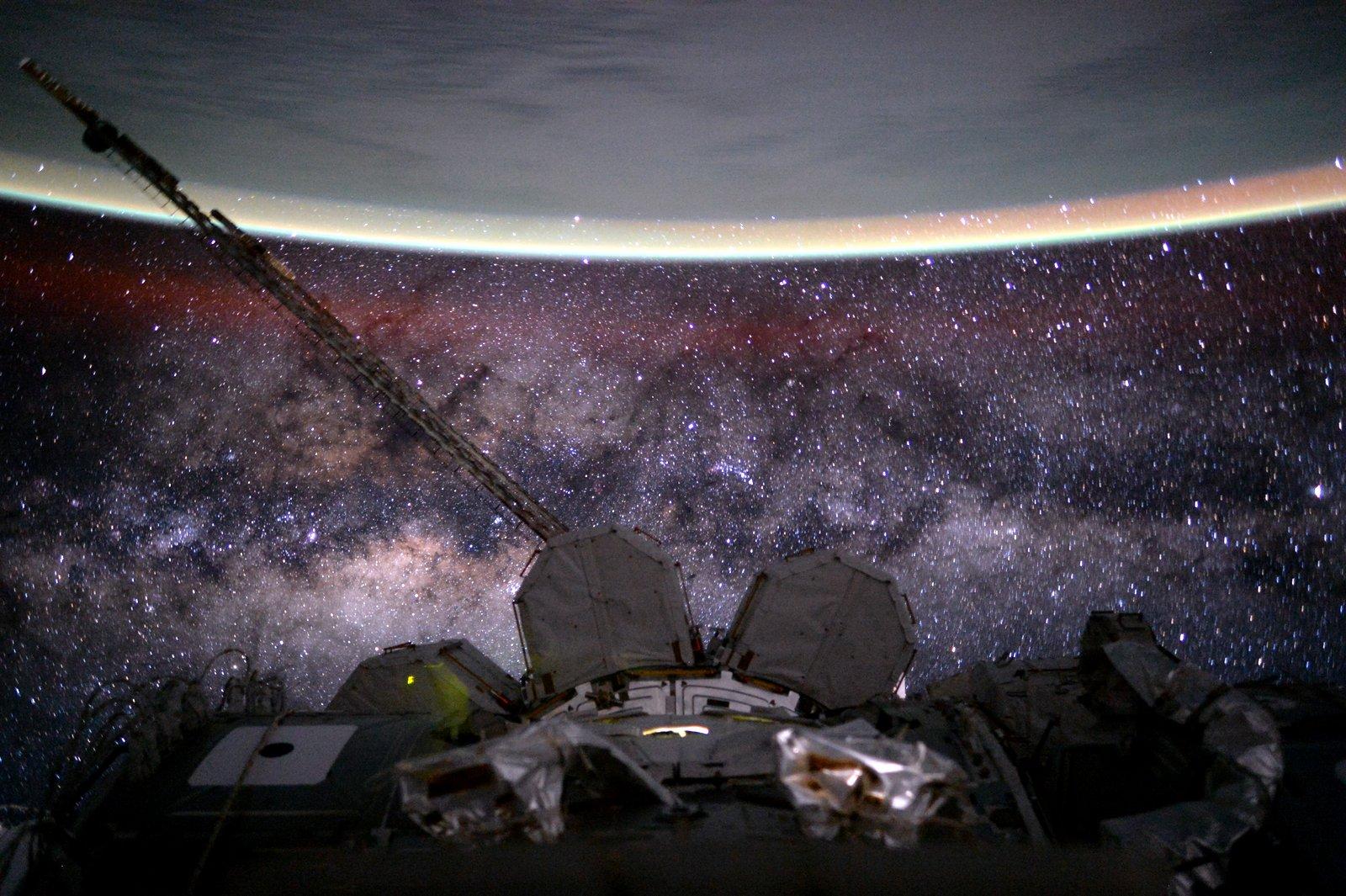 Alienígenas - Astronauta Scott Kelly agosto 2015