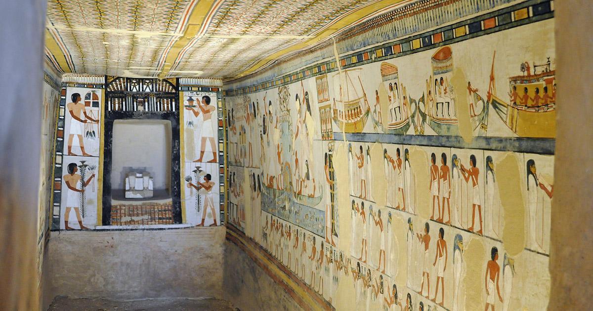 Egipto - La Tumba de Menna