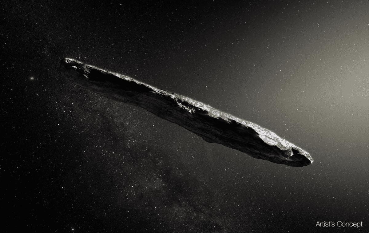 Alienígenas - Oumuamua