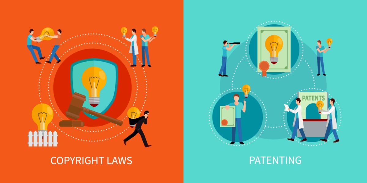 Copyright - Patente