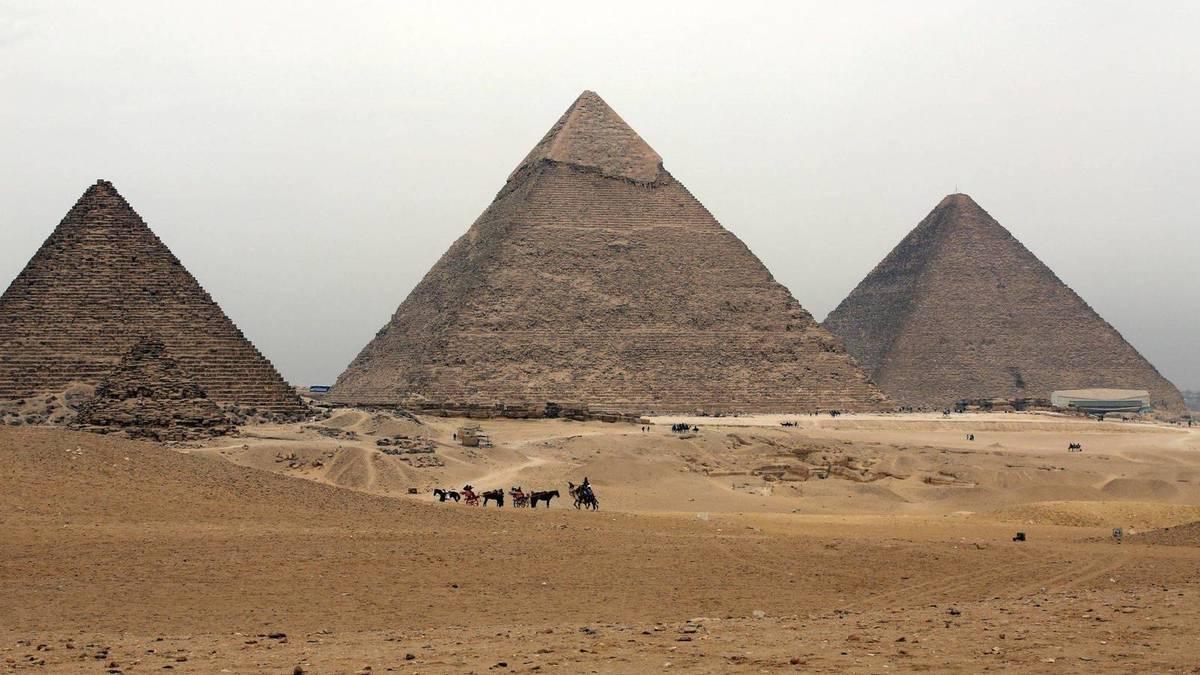 Egipto - Pirámides de Giza