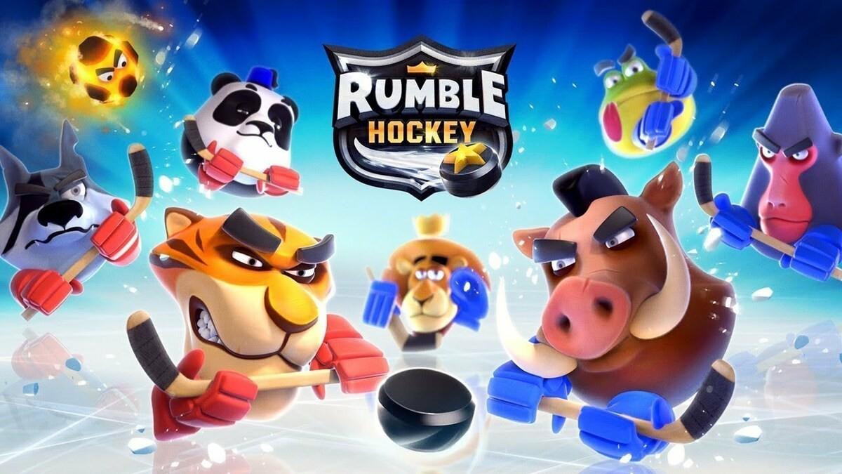 Juegos gratis - Rumble Hockey