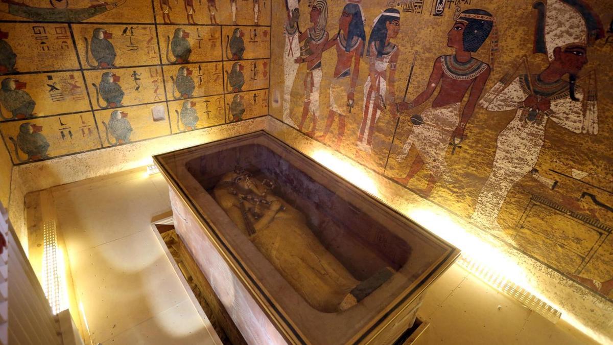Sala de Tutankamón