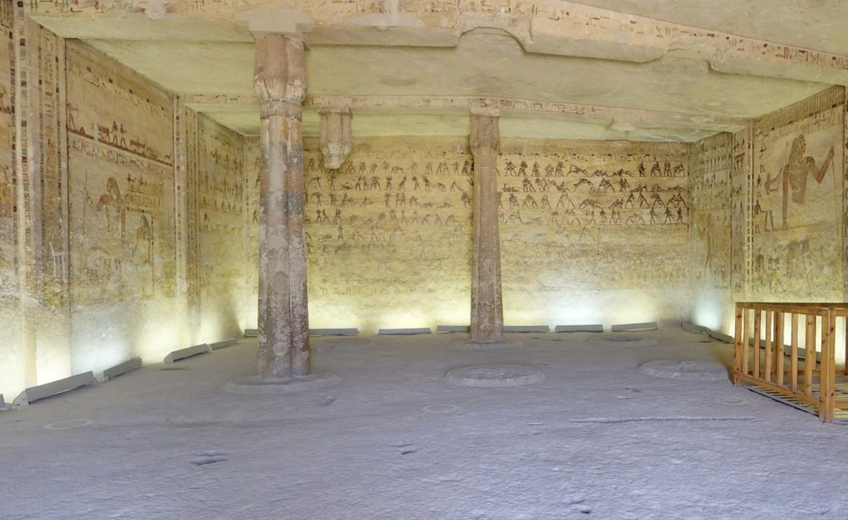 Egipto - Tumba de Khety