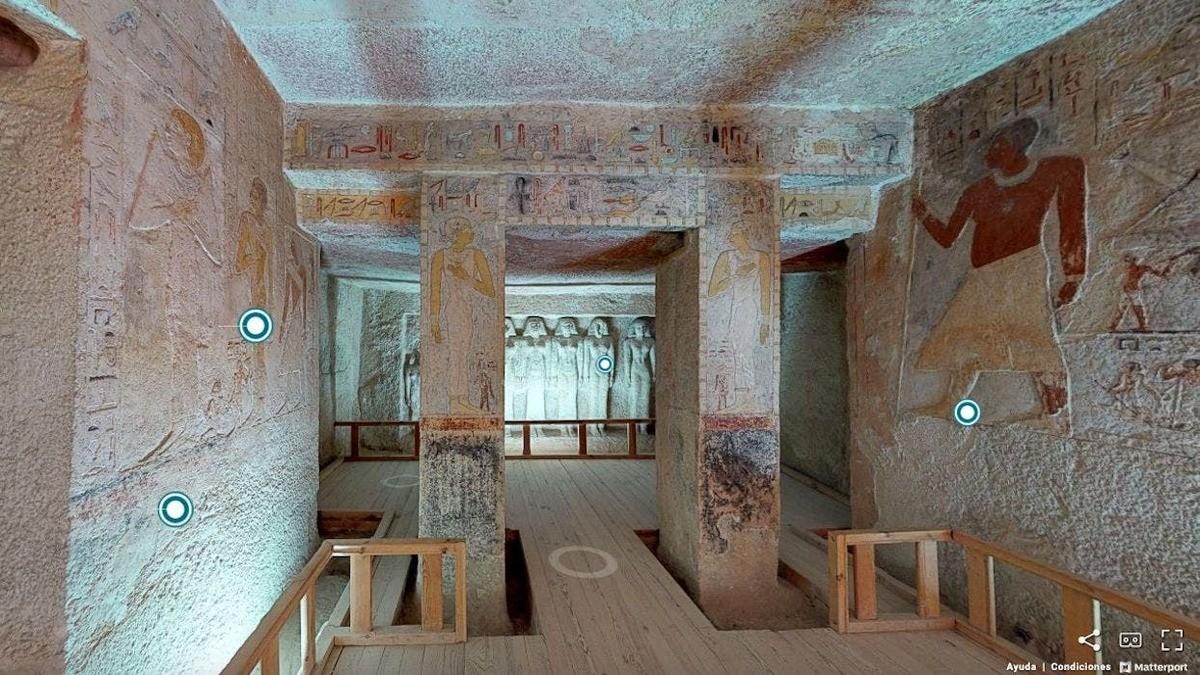 Egipto - Tumba de la Reina Meresankh III