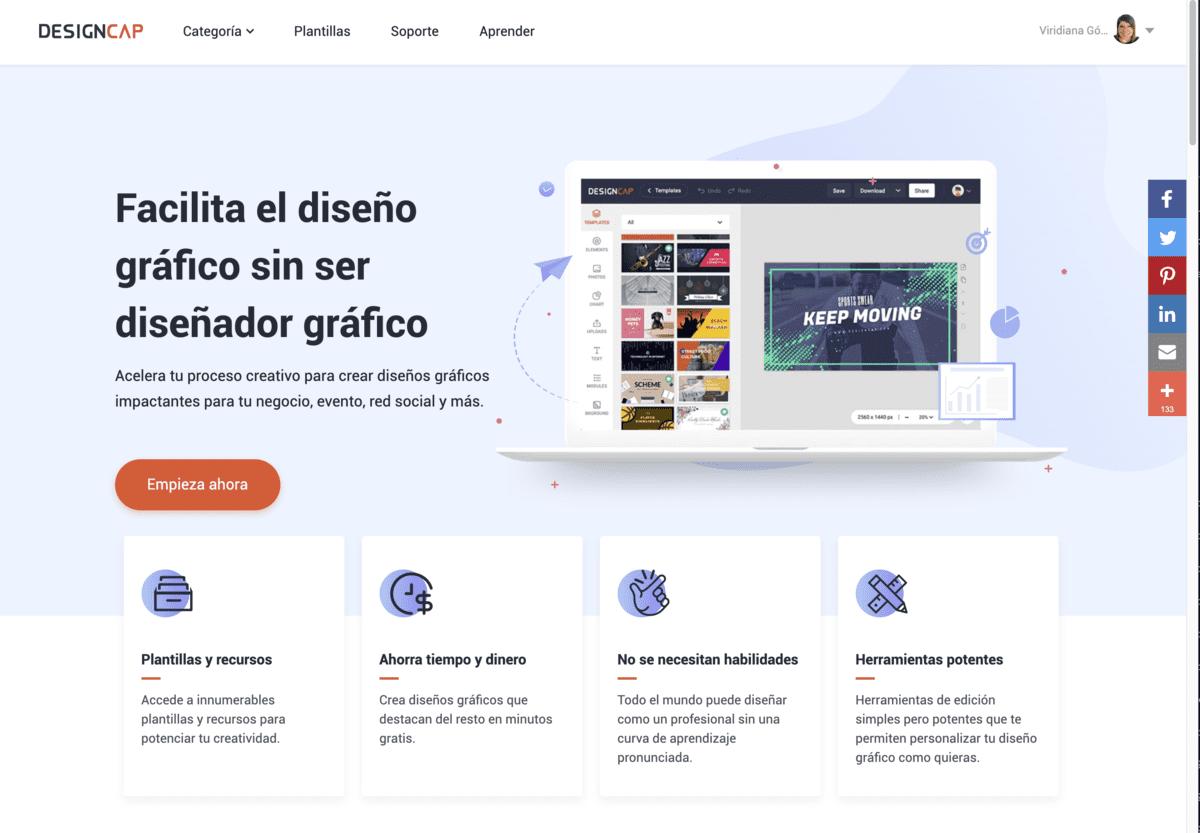 Design Cap - herramientas