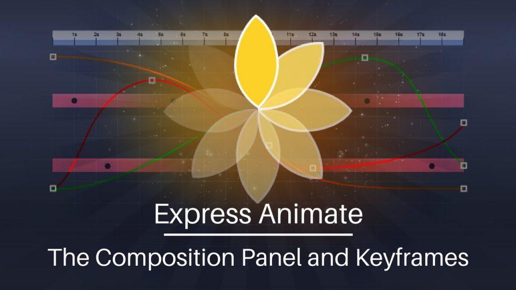 logo de express animate