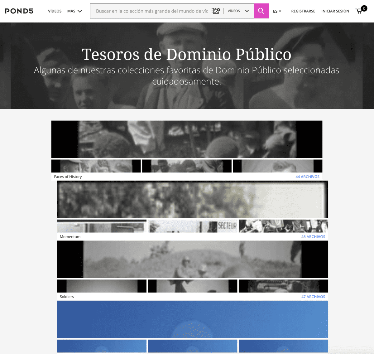 Dominio Público - Pond5