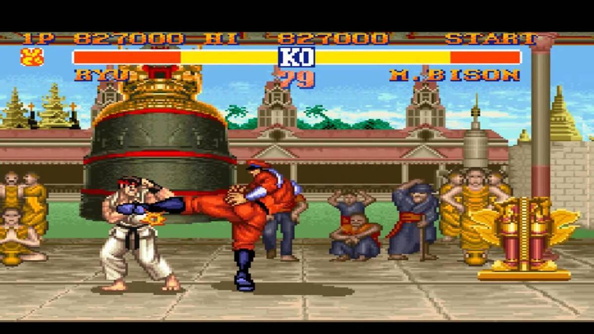 Street Fighter II - juegos difíciles