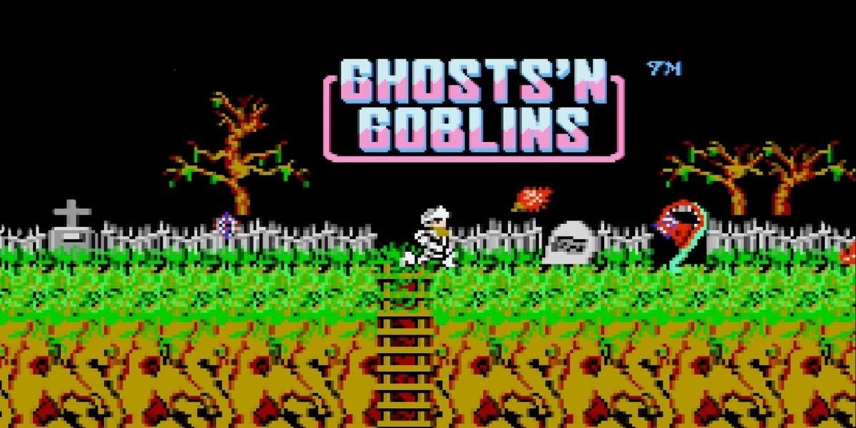 Ghosts'n Goblins - juegos difíciles