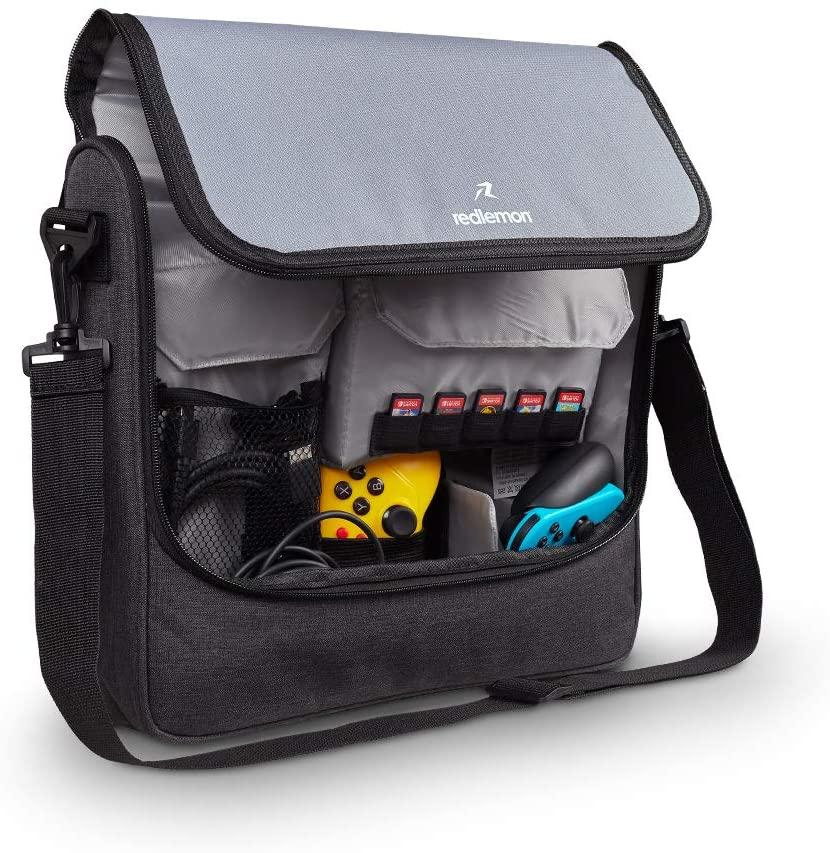 Redlemon Mochila Transporte para Nintendo Switch Carrier Bag, Ideal para viajes