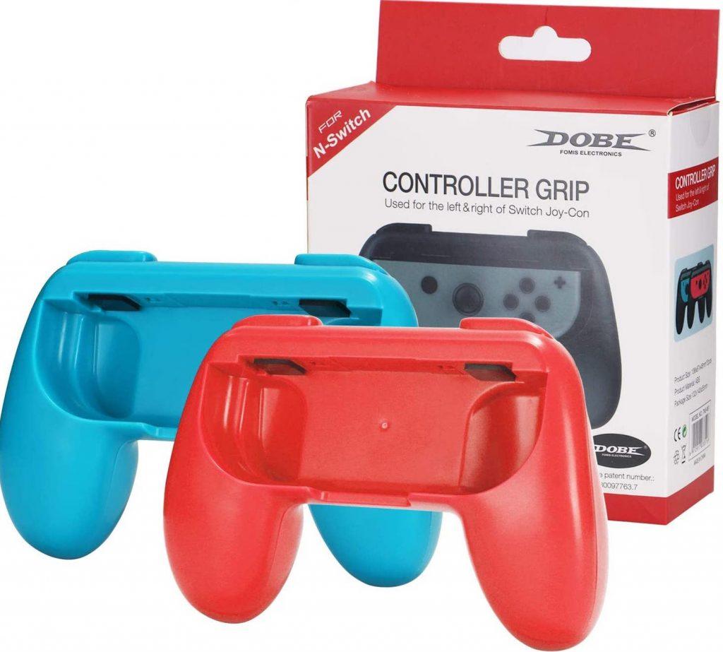 Nasjac Hand Grips para Nintendo Switch Joy-Con,