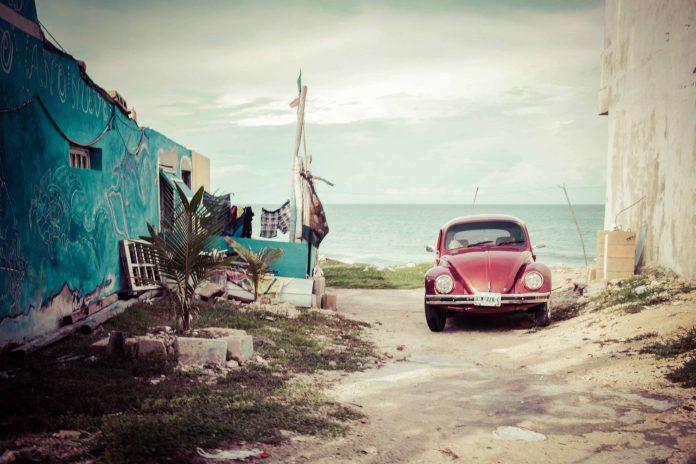 Playa de México sola