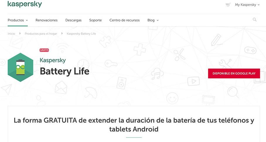 Karspersky Battery Life