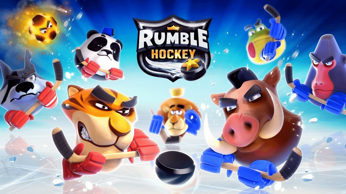 Juegos infantiles - Rumble Hockey