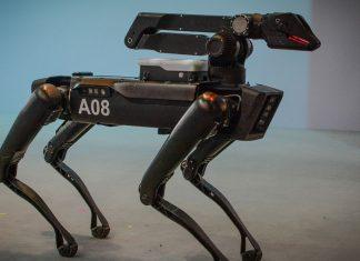 DIGIDOG robot utilizado por la policía de New York