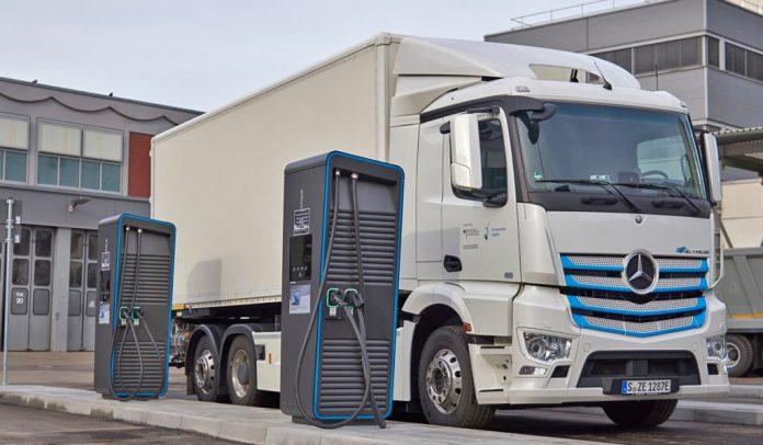 Revolución eléctrica en cargas eléctricas en camiones